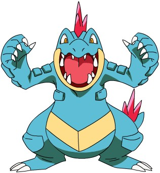 cual es tu pokemon favorito? Feraligatr