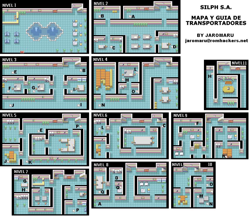 Mapa Pokemon Rojo Fuego.Guia De Juego Pokemon Rojo Fuego Y Verde Hoja Pokefanaticos