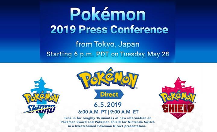 ¡Para agendar! El 28 de Mayo y el 5 de Junio habrá importantes anuncios sobre Pokémon