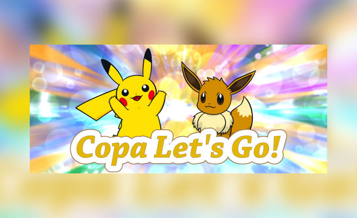 Anunciado el Torneo en Línea Copa Let's Go de Pokémon Global Link