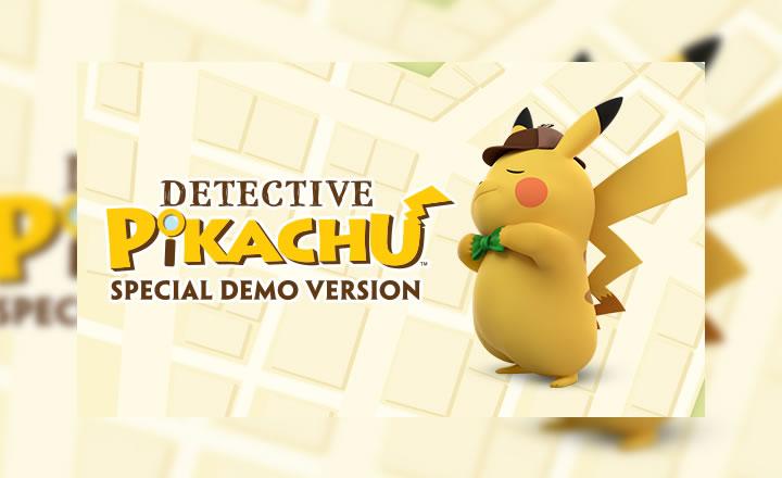 Ya disponible la versión demo de Detective Pikachu