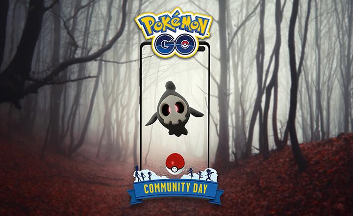 Duskull será el protagonista del Día de la Comunidad de octubre de Pokémon GO