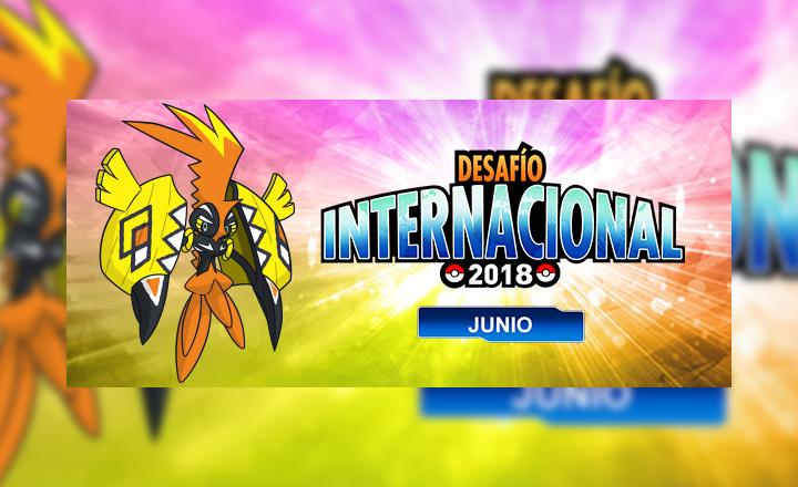 Anunciado el Torneo en Línea Desafío Internacional de Junio de 2018 de Pokémon Global Link