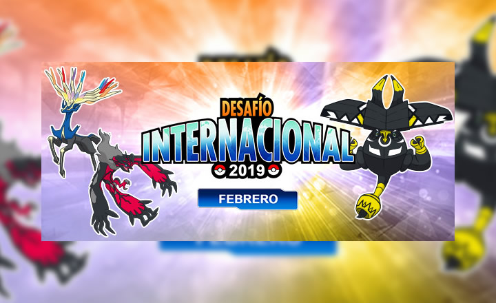 Anunciado el Torneo en Línea Desafío Internacional de Febrero de 2019 de Pokémon Global Link