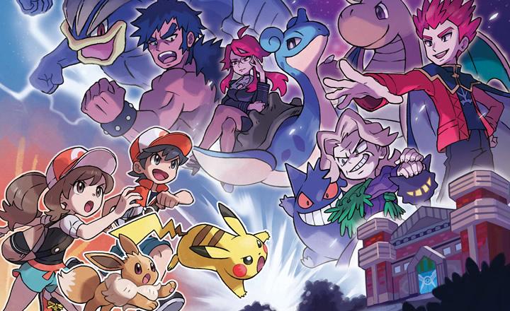 El Alto Mando dice presente en Pokémon Let's Go