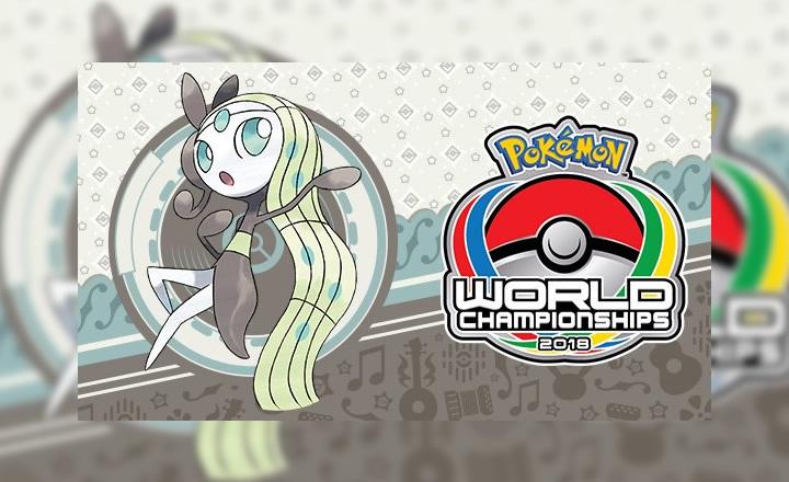Anunciada distribución de Meloetta en el Pokémon World Championships 2018