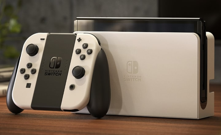 Presentada la Nintendo Switch OLED