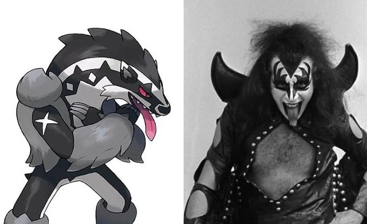 Gene Simmons de KISS dio su opinión sobre el nuevo Pokémon Obstagoon