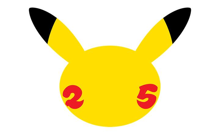 Pokémon presentó el logo de la celebración de su 25° aniversario