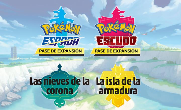 Anunciados los pases de expansión para Pokémon Espada y Escudo: La isla de la armadura y Las nieves de la corona