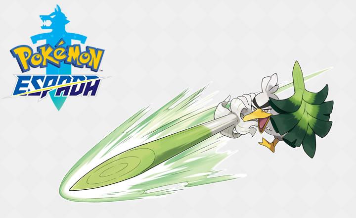 Presentado Sirfetch'd, nuevo Pokémon que aparecerá en Pokémon Espada