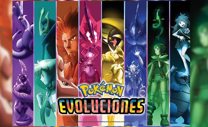 Revelada la serie especial de animación Evoluciones Pokémon