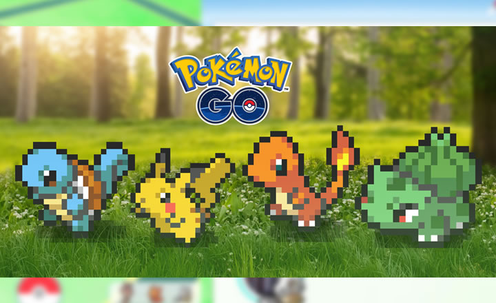 April Fools: Pokémon GO se actualiza con innovadores gráficos de 8 bits