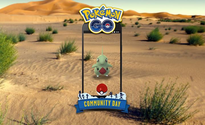 Larvitar será el protagonista del Día de la Comunidad de Pokémon GO de Junio