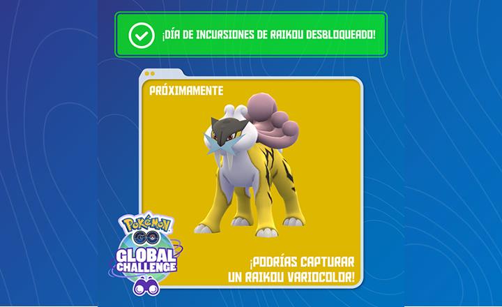 Ya habilitados los bonus del primer Desafío Global de Pokémon GO