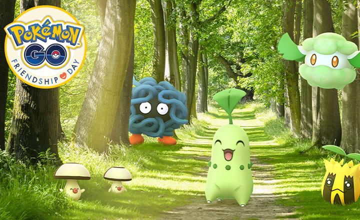 Anunciado el evento Día de la Amistad de Pokémon GO