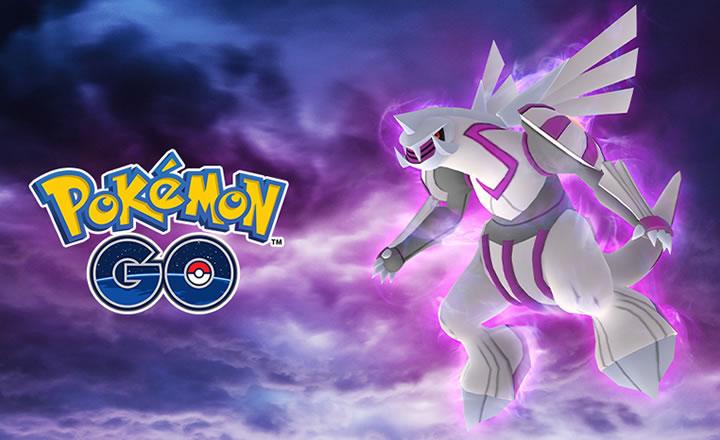El Pokémon Legendario Palkia llega a los Combates de Incursión de Pokémon GO