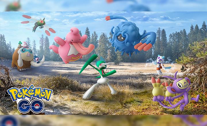 Formas evolucionadas de Pokémon de Sinnoh llegaron a Pokémon GO