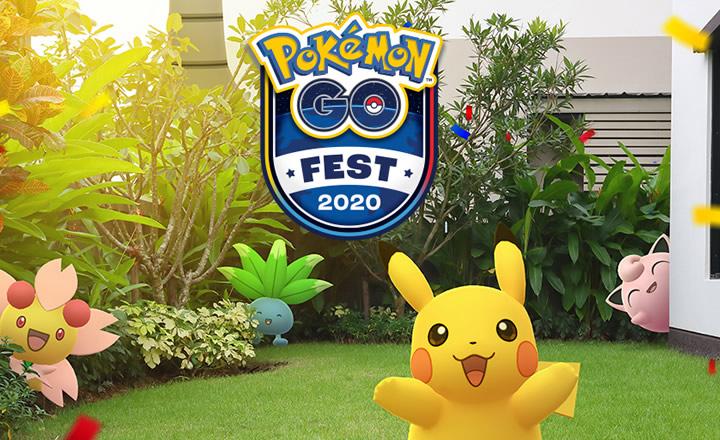 Pokémon GO Fest 2020 llegará con un evento virtual para 25 y 26 de julio