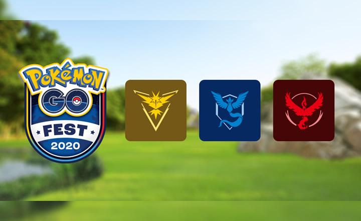 Niantic presenta las salas de equipo virtual para el Pokémon GO Fest 2020