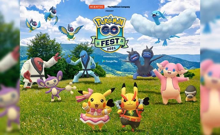 El Pokémon GO Fest 2021 llegará en julio