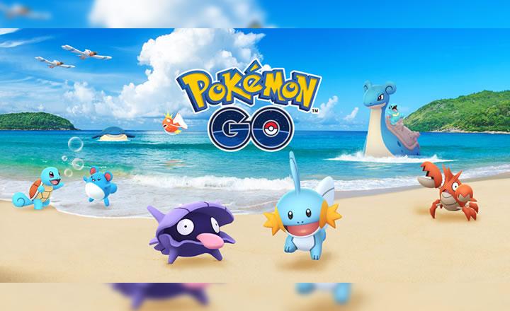 Anunciado el Festival Acuático 2018 de Pokémon GO