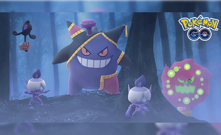 Pokémon GO anunció su evento Halloween 2020