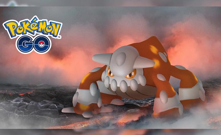 Heatran ahora disponible en los Combates en Incursión de Pokémon GO