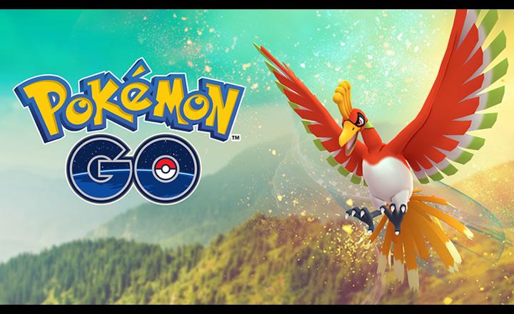 Ho-oh retorna a las Incursiones de Pokémon GO alrededor del mundo