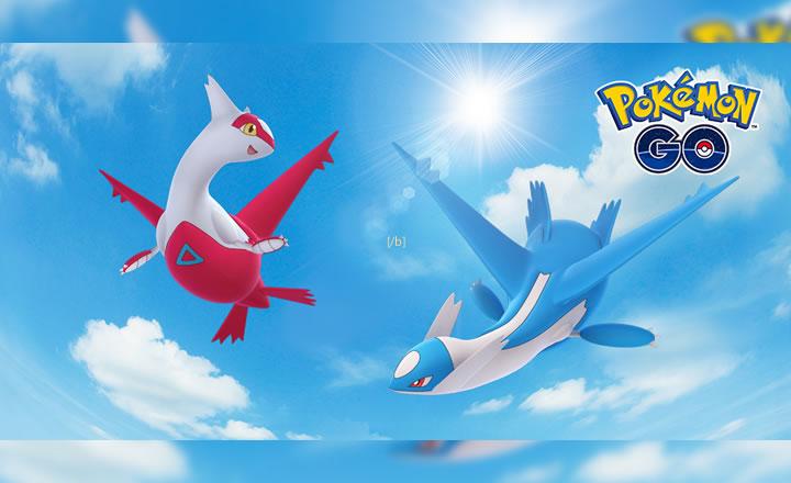 Latias y Latios llegan a Pokémon GO en la modalidad de Incursión