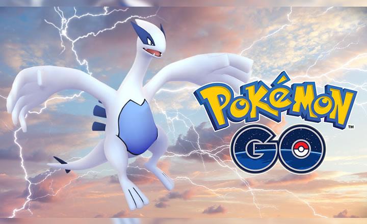 Lugia volverá a estar disponible en los Combates en Incursiones de Pokémon GO