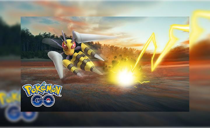 Megaevoluciona un Beedrill y úsalo en combate para desbloquear un nuevo mega Pokémon
