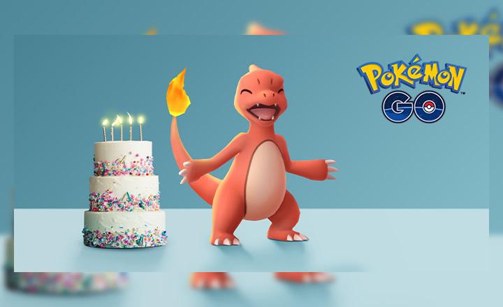 Pokémon GO celebrará su quinto aniversario con un evento especial
