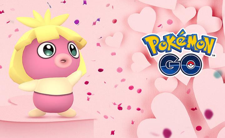 El evento especial de San Valentín regresa a Pokémon GO