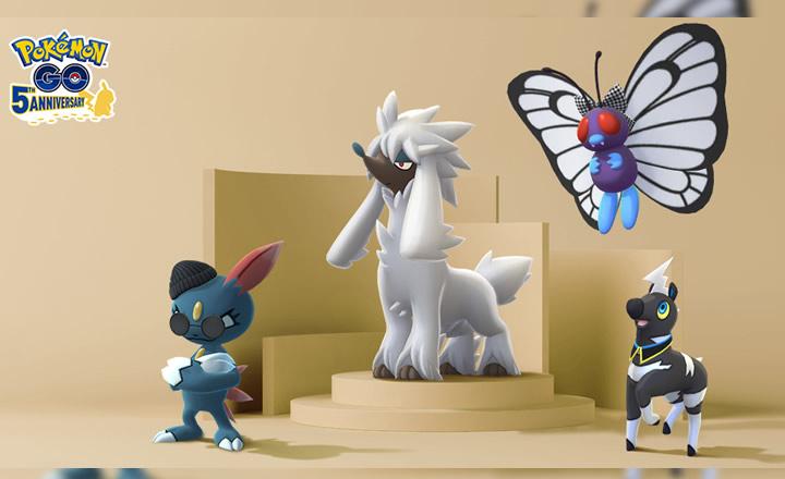 Furfrou y otros Pokémon disfrazados llegan a Pokémon GO en la Semana de la Moda