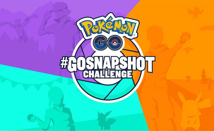 Pokémon GO lanzó concurso de Instantáneas de GO