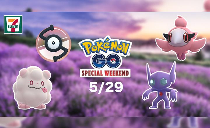 Pokémon GO y 7-Eleven México anunciaron un Special Weekend para mayo