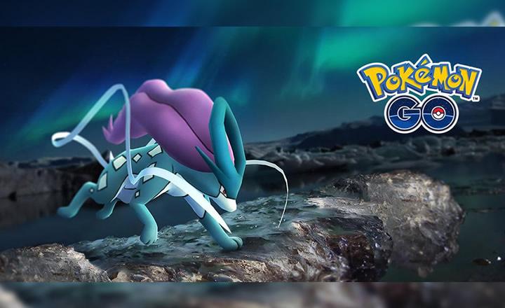Consigue a Suicune en las Tareas de Investigación de Campo de Pokémon GO para Octubre