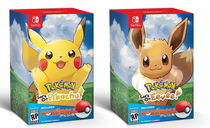 E3 2018: Nuevos detalles sobre Pokémon Let's Go Pikachu y Eevee