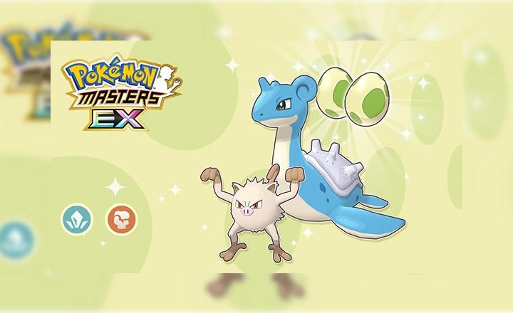 Consigue a Lapras y Mankey variocolor en el evento de Pokémon Masters EX