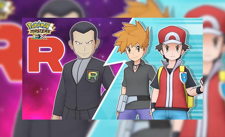 Recluta a Rojo y a Azul de Kanto en Pokémon Masters EX