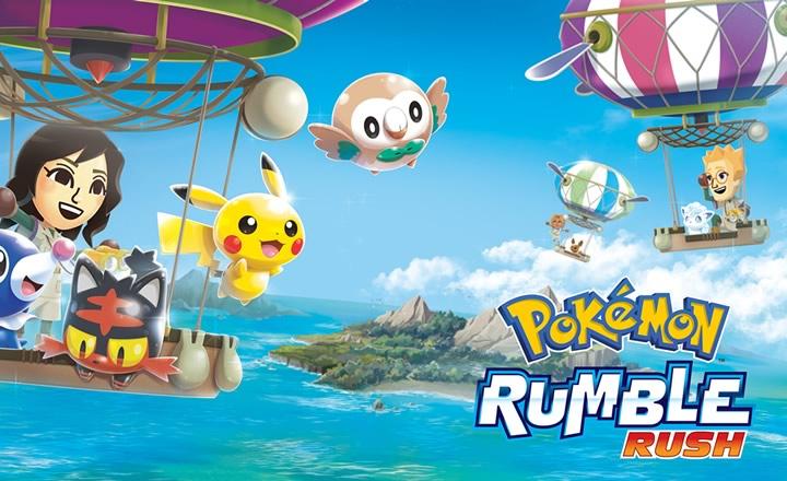Pokémon Rumble Rush ya disponible en todo el mundo