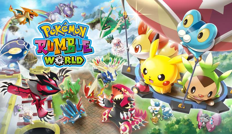 Confirmado Pokemon Rumble World Nuevo Juego Gratuito Para Nintendo