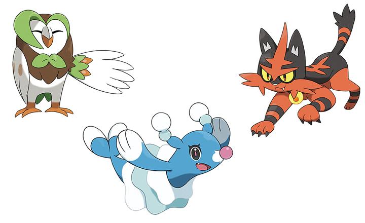 Pokmon Sol y Luna Presentadas evoluciones de los Pokmon