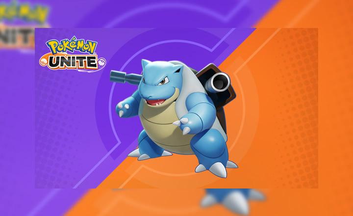 Blastoise ya está disponible en Pokémon UNITE