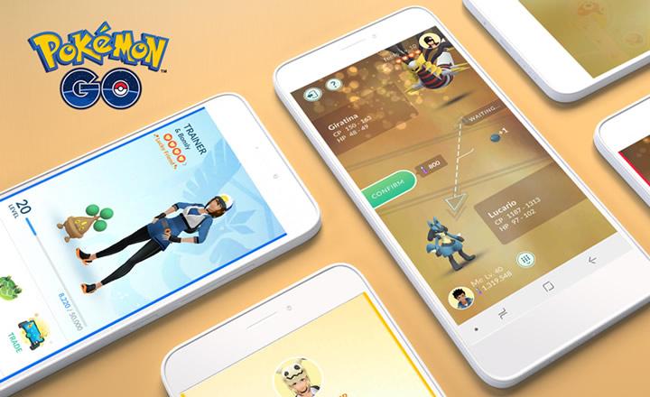 La amistad suerte y poses de avatar llegaron a Pokémon GO