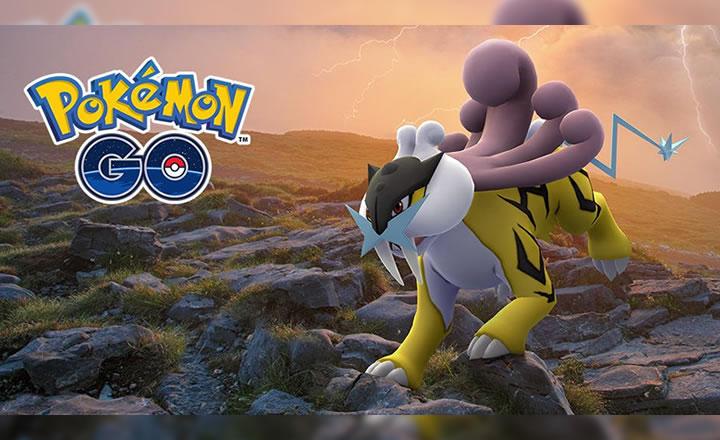 Consigue a Raikou en las Tareas de Investigación de Campo de Pokémon GO para Agosto