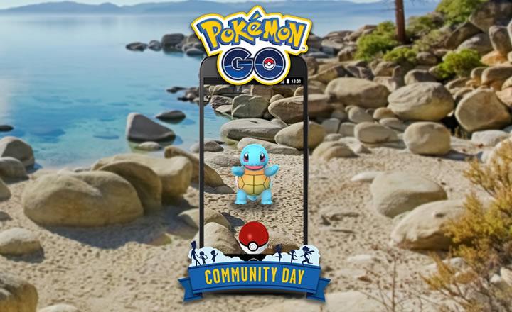 Squirtle será el protagonista del Día de la Comunidad de Pokémon GO de Julio