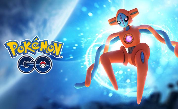 Deoxys llegará a las Incursiones EX de Pokémon GO