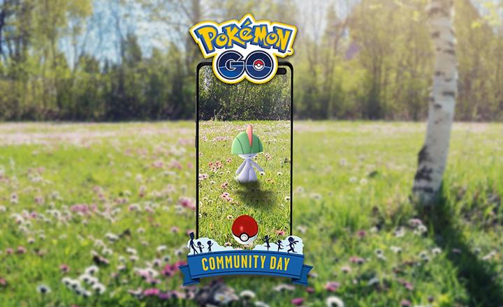 Ralts será el protagonista del Día de la Comunidad de Pokémon GO de agosto
